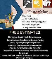 Cheap Rates Handyman Edris Scarborough 6473032372
