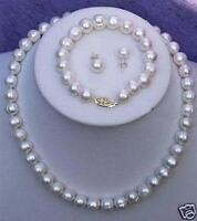 Akoya Pearl Necklace and Earrings