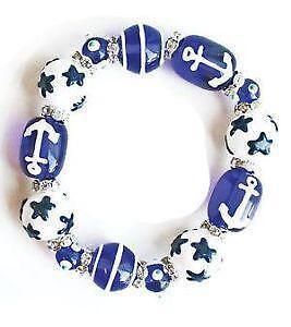 Gl Bead Stretch Bracelets