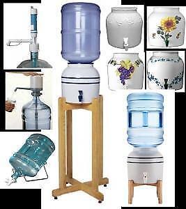 Water Cooler Porcelain Crock  • Water Filter • Reverse Osmosis • Shower Filter • Himalayan Salt • CALL: (416) 654-7812