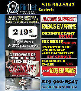 Duct cleaning business for sale Gatineau Ottawa / Gatineau Area image 1