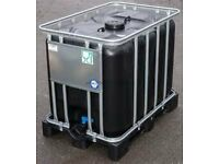 *WANTED* 400L / 500L / 600L IBC in cage, suitable for water