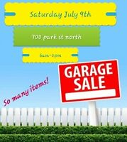 YARD SALE saturday July 9th