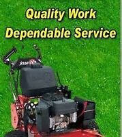 Hiring for lawncare as of July 18, major west island company