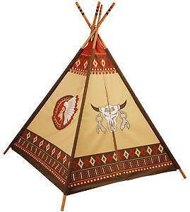 indianer tipi spielzeug ebay. Black Bedroom Furniture Sets. Home Design Ideas