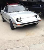 1983 Mazda RX-7 black Coupe (2 door) REDUCED
