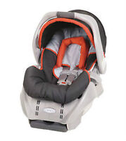 "Graco Snugride Infant Car Seat with Base, ""Surin"", New in Box"