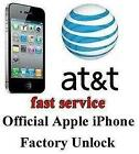 Factory Unlock iPhone 4 ATT