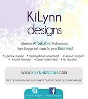 • AFFORDABLE • EXPERIENCED • FREELANCE WEB & GRAPHIC DESIGNER •