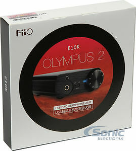 never used  E10k OLYMPUS  portable USB headphone amp, delivery!