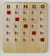 Bingo Shutter Cards 50