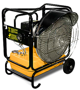 Portable Industrial Radiant Heaters