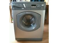 Hotpoint WT741 7kg 1400 Spin Silver LCD Washing Machine 1 YEAR GUARANTEE FREE DEL N FIT