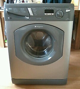 Hotpoint WT741 7kg 1400 Spin Silver LCD Washing Machine 1 YEAR GUARANTEE FREE FITTING