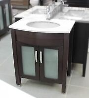 "Elora 28"" Bathroom Vanity Solid Wood"