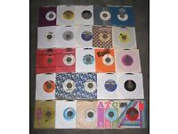 "Original vinyl records - soul jazz funk disco rock rap 7"" 45s + 12""s + LPs - set sale £1 + each"