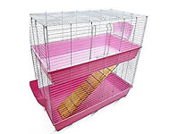 Large indoor rabbit hutch (can be used as cage for rats, ferrets, and guinea pigs)