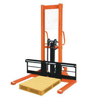 New Pallet Stacker Hand Truck for $1399.99! Dont miss out!