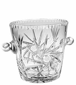 Pinwheel Crystal Ice bucket (no lid) $75