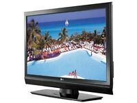 "LG 32"" LCD HD TV WITH REMOTE,TABLETOP STAND AND BUILT IN FREEVEIW"