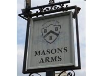 Cleaner Required For The Masons Arms, Marston Gate, BA114DJ Good Rate of Pay!
