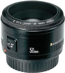 Canon EOS Rebel T3i 600D Body & Canon 50mm 1.8 Lens