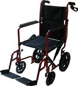 Wheelchair - Lightweight Transit with Handle Brakes - NEW West Pennant Hills The Hills District Preview