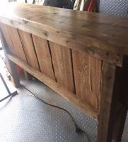 Solid Wood Bar (used for outdoor Wedding)