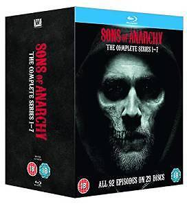 Sons Of Anarchy TV Series Complete Seasons 1-7 1 2 3 4 5 6 & 7 Blu Ray Boxset