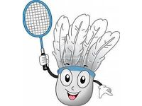 Intermediate and Advanced Players for North East London Badminton Club