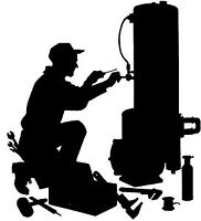 Maintenance and repair of heating and cooling units.