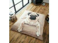 pug throw/blanket....king
