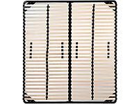 Slatted Bed Frames – metal frame - 160 x 200 cm - NEW
