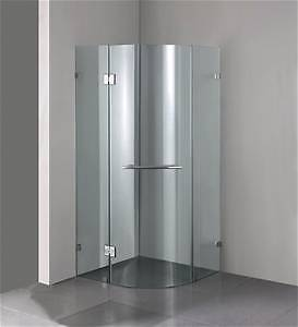 Curved glass shower screen - 10mm glass Long Jetty Wyong Area Preview
