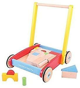 BigJigs houten loopwagen Baby Walker