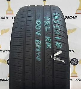 2 x 245/50/18 PIRELLI cinturato P7 RUN FLAT tires %80 tread left