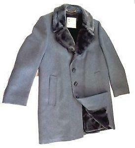 Mens Fur Lined Coat