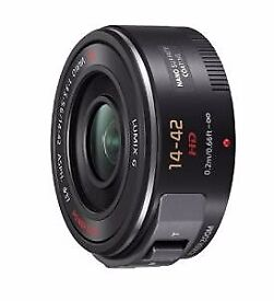 Brand New Panasonic H-PS14042E-K Lumix G X VARIO 14-42mm F3.5-5.6 ASPH Zoom Lens