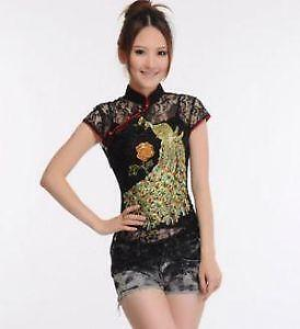 2e0a3ee76ac3d9 Women's Chinese Shirts