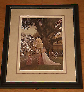 Douglas Laird Bridal Path Picture NUMBERED AND SIGNED