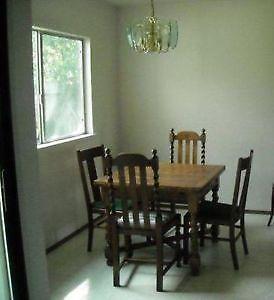 Antique Oak Table   eBay