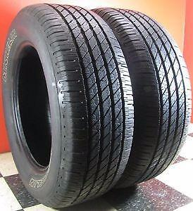 215/60R16	Michelin Primier Set of 2 Used allseason tires 75%tread left Free Installation and Balance