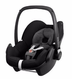 MAXI COSI PEBBLE CAR SEAT / CARRIER - LIKE NEW