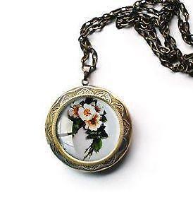 Glass locket jewelry watches ebay glass memory locket mozeypictures Choice Image