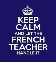 French Tutor-Profesor de francés-Tuteur de français