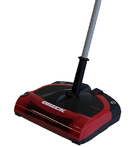 Oreck cordless electric sweeper