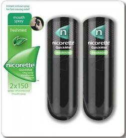 Nicorette quick mist
