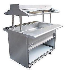 Steam Buffet Tables