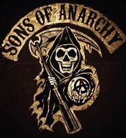 SONS OF ANARCHY,seasons 3,4 and 5 dvd sets,perfect condition