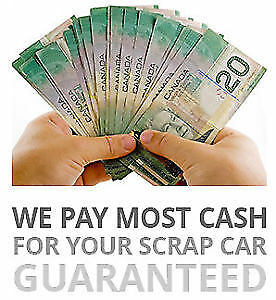 WE BUY JUNK CARS FOR CASH ON THE SPOT PAYING TOP DOLLARS